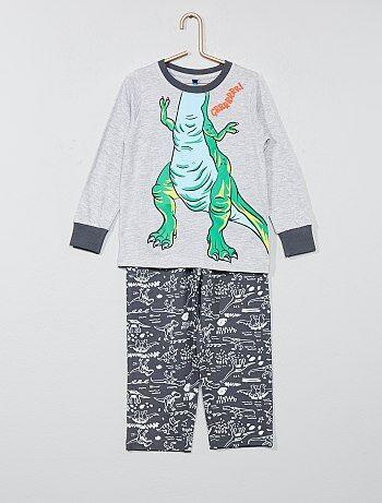Bambino 3-12 anni - Pigiama 2 pezzi 'Dinosauro' - Kiabi