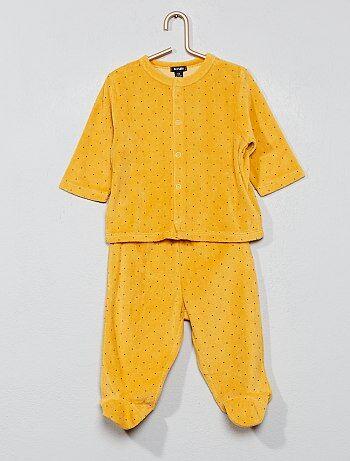 03f4f83f61 Bambino 0-36 mesi - Pigiama ciniglia cotone bio - Kiabi