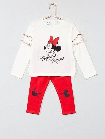 Bambina 0-36 mesi - Pigiama con volant 'Minnie' - Kiabi