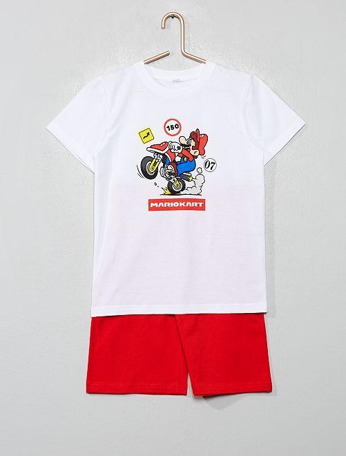 Pigiama corto 'Super Mario'                             ROSSO