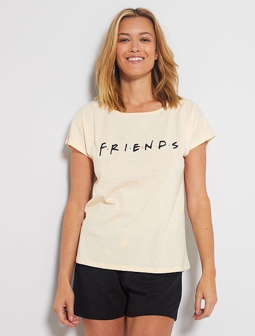 Pigiama 'Friends'                             BIANCO