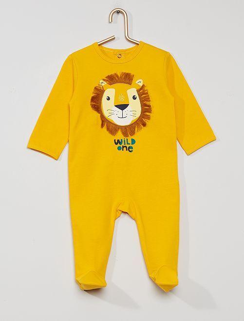 Pigiama in jersey 'eco-sostenibile'                                                                                                                                                                                                                                                                 leone