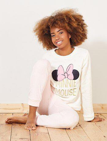 Pigiama lungo 2 pezzi 'Minnie' 'Disney' - Kiabi