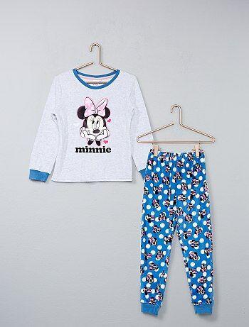 Pigiama lungo ciniglia 'Minnie' - Kiabi