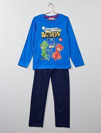 Bambino 3-12 anni - Pigiama lungo 'PJ Masks - Super pigiamini' - Kiabi