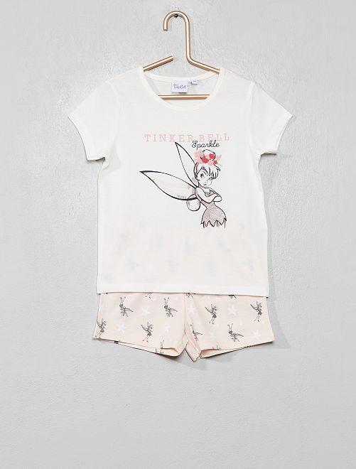 Pigiama pantaloncini 'Campanellino'                             ROSA Infanzia bambina