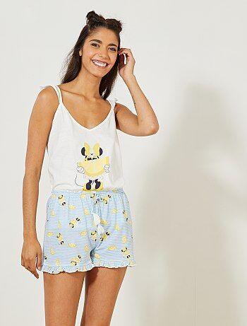Pigiama pantaloncini 'Minnie' 'Disney' - Kiabi