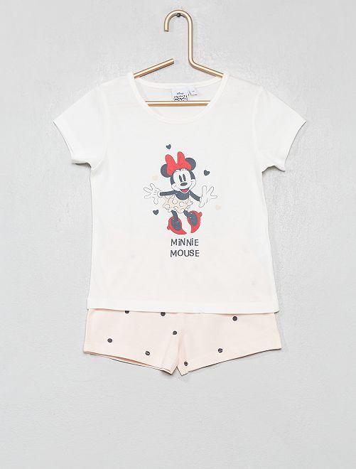 Pigiama pantaloncini 'Minnie'                             GRIGIO Infanzia bambina