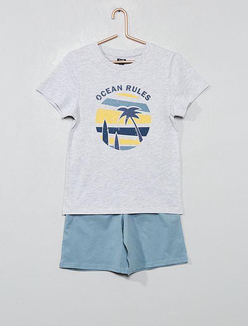 Pigiama pantaloncini 'oceano'                                                                 GIALLO Infanzia bambino