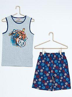 Pigiami - Pigiama pantaloncini stampa 'Avengers'