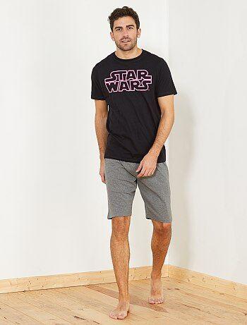 Uomo dalla S alla XXL - Pigiama pantaloncini 'Star Wars' - Kiabi