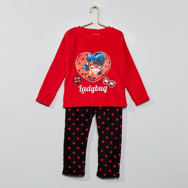 nuovo concetto f41a7 0a65b Pigiama pile 'Lady Bug' 'Miraculous' Infanzia bambina ...