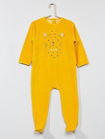 eda5bb99c3 Pigiami, accappatoi Neonati bebe | giallo | Kiabi