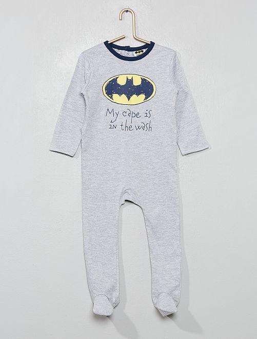 Pigiama stampa 'Batman'                             GRIGIO Neonato