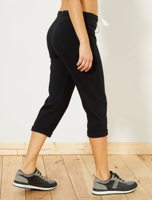 Pinocchietti sport stretch                             nero Donna