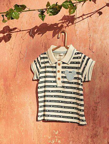 Bambino 0-36 mesi - Polo a righe  Topolino  - Kiabi 44be9fd8135