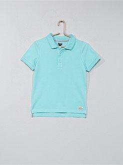 T-shirt, polo - Polo cotone piqué - Kiabi