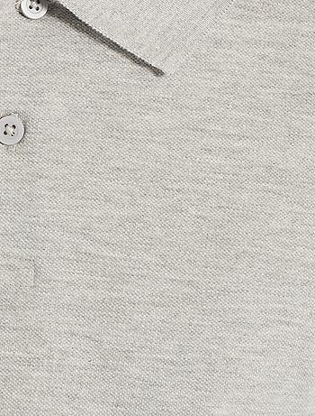 Polo regular tinta unita Uomo - bianco - Kiabi - 6 5537ffcd5d9e