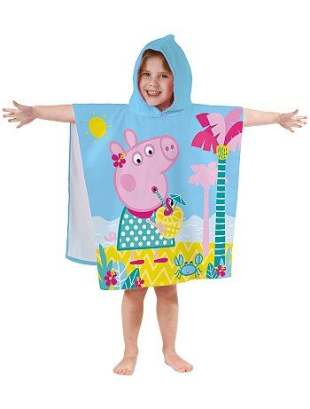 Poncho da bagno cappuccio 'Peppa Pig' - Kiabi