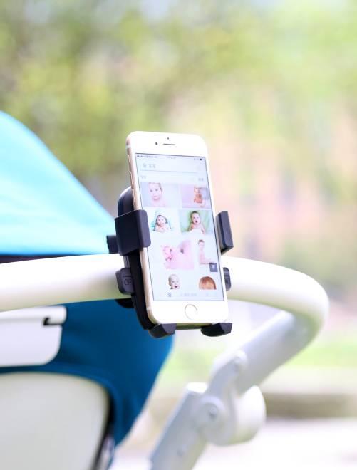 Porta telefono per passeggino                             nero Neonato