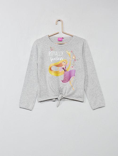 Pullover annodato 'Minnie'                                         GRIGIO Infanzia bambina