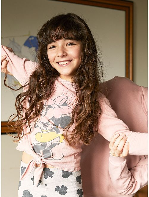 Pullover annodato 'Minnie'                                         rosa Infanzia bambina