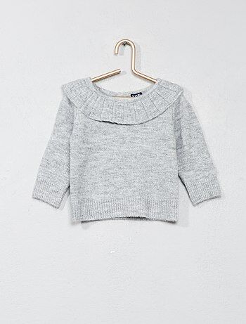 Pullover con colletto - Kiabi