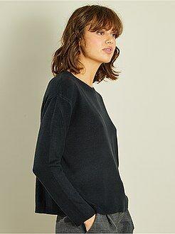 Donna dalla 38 alla 52 Pullover corto maglina