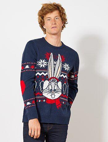 Pullover di Natale 'Bugs Bunny' - Kiabi