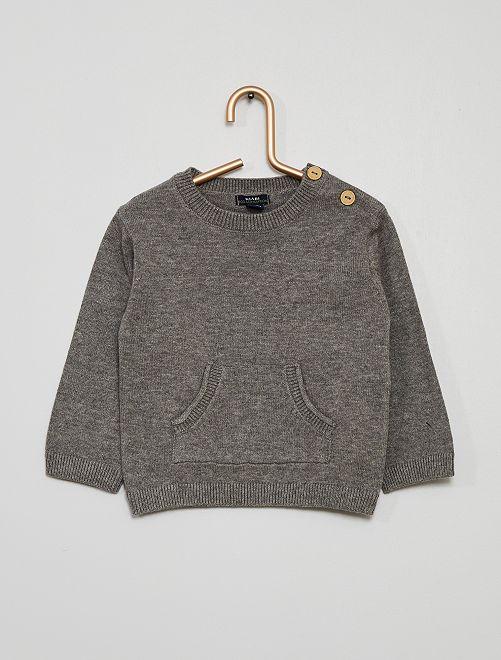 Pullover                                                     GRIGIO