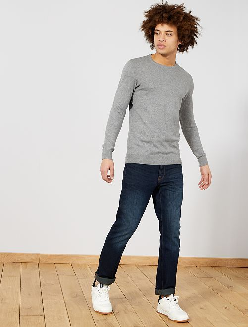 Pullover leggero girocollo                                                                                                                                                                                         grigio