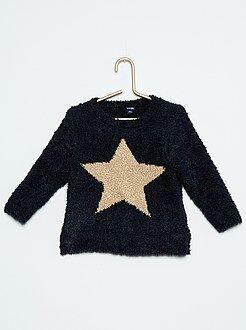 Pullover maglia ciniglia