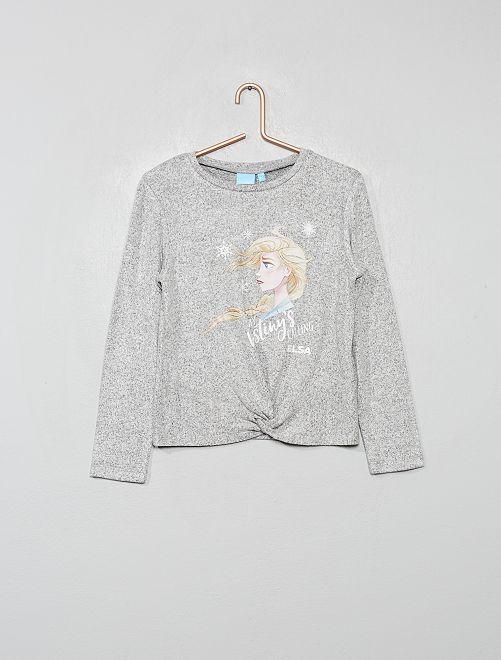 Pullover maglia morbida 'Frozen'                             GRIGIO