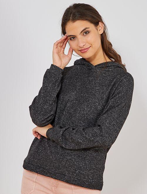 Pullover maglia morbidissima                                                                 GRIGIO Donna