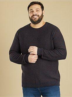 Pullover maglia mouliné - Kiabi