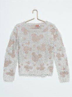 Pull, cardigan - Pullover maglia pelosa 'Minnie'