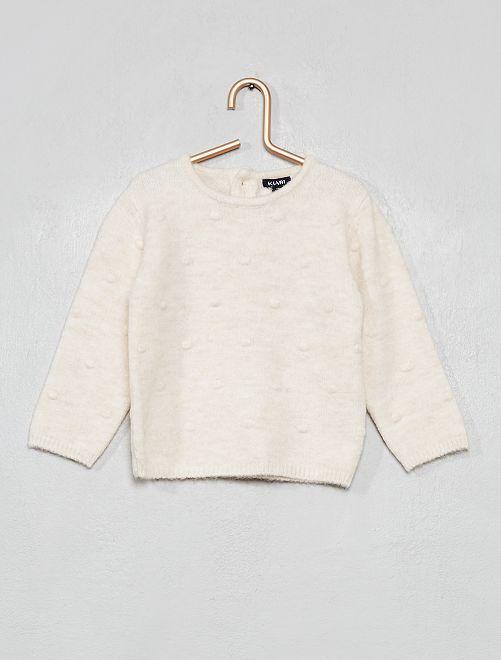 Pullover maglia vaporosa                                 BEIGE