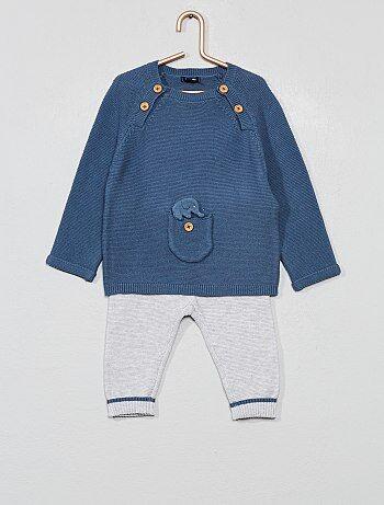 Pullover + pantaloni 'eco-design' - Kiabi