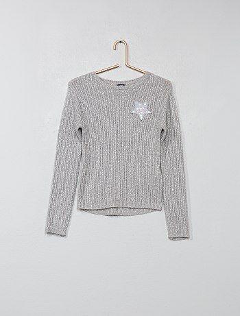 Pullover patch ricamato - Kiabi