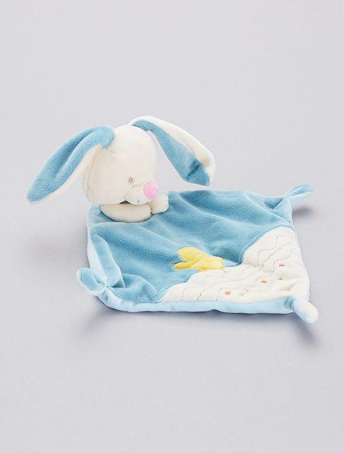 Pupazzetto fazzoletto 'coniglio'                                         blu