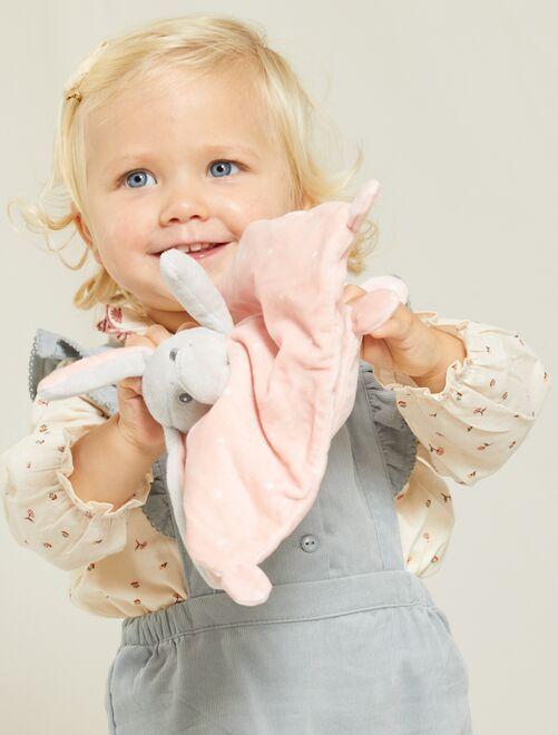 Pupazzetto fazzoletto di velluto                                                     rosa