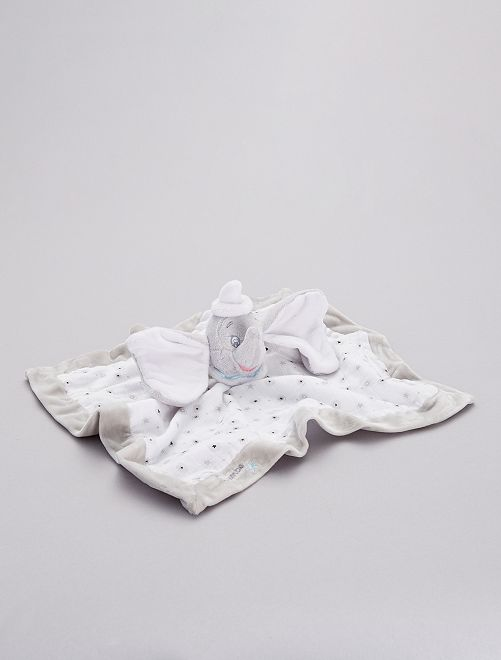Pupazzetto fazzoletto 'Dumbo'                             grigio bianco Neonato