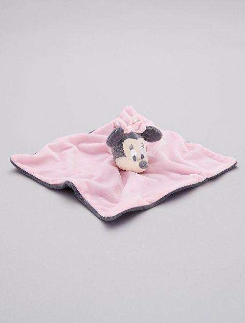 Pupazzetto fazzoletto 'Minnie'                             rosa