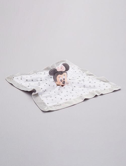 Pupazzetto fazzoletto 'Minnie'                             ROSA Neonata