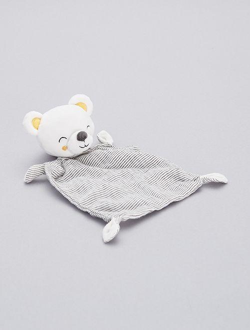 Pupazzetto fazzoletto 'orso'                             orso Neonato