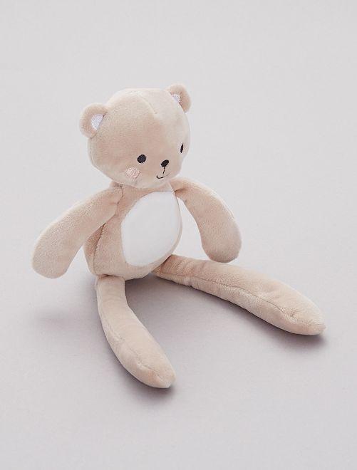 Pupazzetto in ciniglia 'Scimmia'                                         orso Neonata