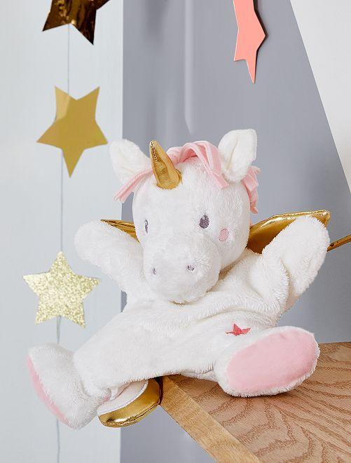 Pupazzetto 'unicorno'                             BEIGE Neonata