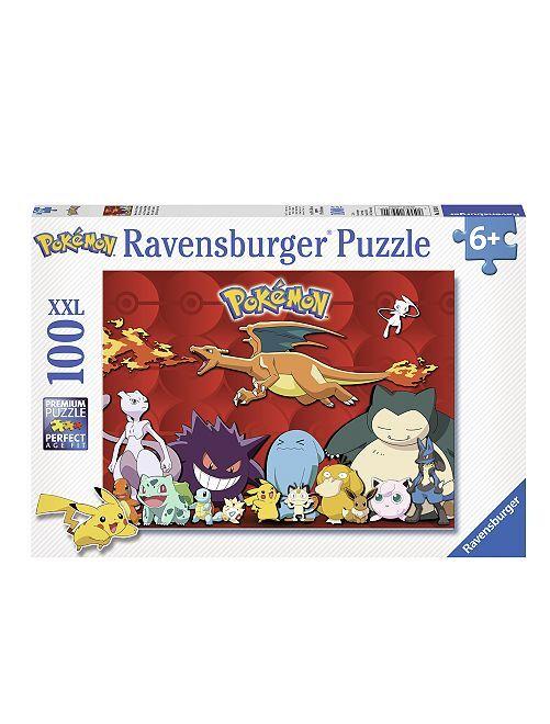Puzzle 100 pezzi 'Pokemon'                             rosso Infanzia bambino