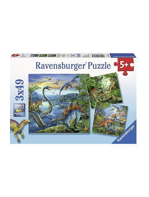 Puzzle 'Dinosauro' 'Ravensburger'                             blu Infanzia bambino