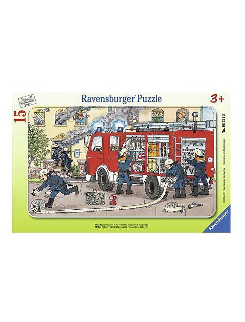 Puzzle 'Pompieri' 'Ravensburger'                             verde
